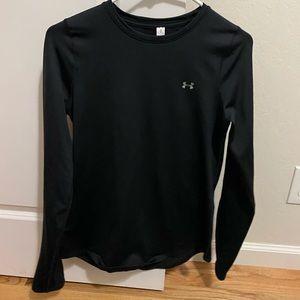 Under armour black tight shirt